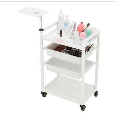 Купить с кэшбэком Beauty Cart Beauty Salon Stroller European Hair Salon Multi-function Mobile Tool Cart