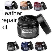 Kit de soins de voiture peau en cuir liquide remettre à neuf outil de réparation Auto siège canapé manteaux trous éraflure fissures restauration pour chaussure pour voiture