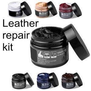 Image 1 - Car Care Kit Liquid Leather Skin Refurbish Repair Tool Auto Seat Sofa Coats Holes Scratch Cracks Restoration For Shoe For Car