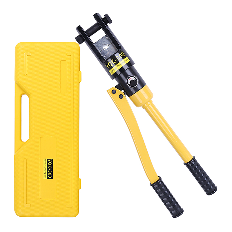 YQK-300 Hydraulic Crimping Tool Cable Lug Crimper Plier Hydraulic Compression Tool 10-300mm2 Pressure 12T Clamping Tool With Box