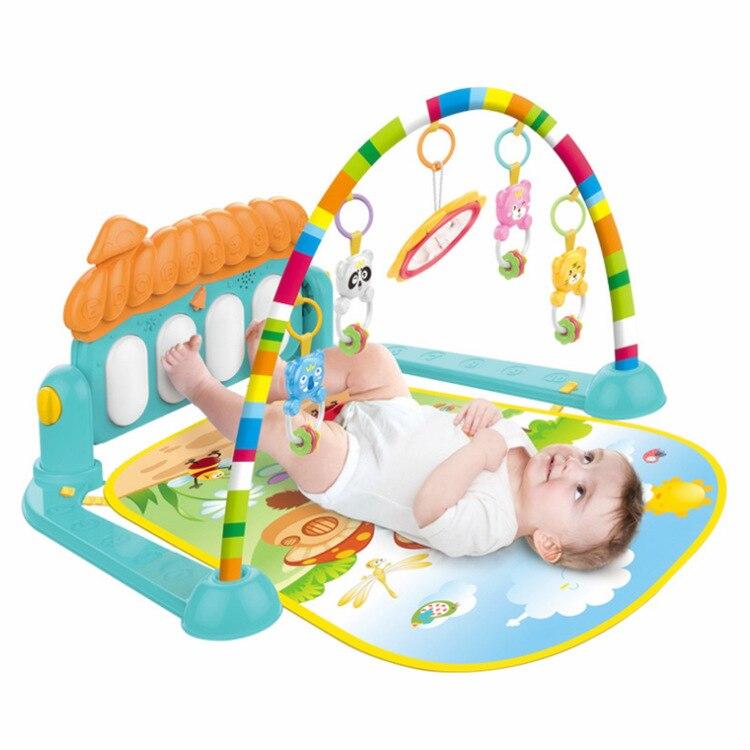 Musique infantile Fitness cadre fabricant bébé multi-fonctionnel pédale Piano rampe Pad transfrontalier Amazon jouet
