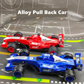 1:24 F1 Racing Formel Auto Statische Simulation Diecast Legierung Modell Auto 1/24 Pull Back Sport Fahrzeuge Kinder Spielzeug Für Kinder jungen