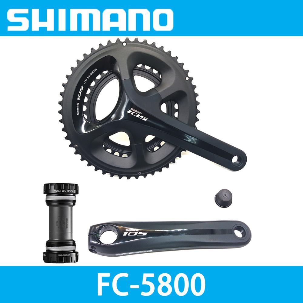 Shimano105 FC-5800 Road Double Crankset 50//34T 172.5mm