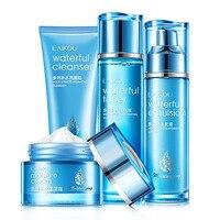 Face Skin Care Set Moisturizing Cream/Emulsion/Cleanser/Toner Anti Aging Wrinkle Repair Whitening Nourshing Facial Set Beauty