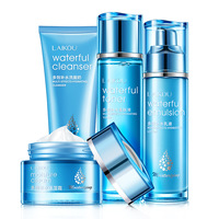 Face Skin Care Set Moisturizing Cream/Emulsion/Cleanser/Toner Anti Aging Wrinkle Repair Whitening Nourshing Facial Set Beauty