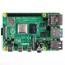 Компьютер с одной платой, Raspberry Pi 4 Model B,BCM2711 SoC,2 ГБ/4 ГБ/8 ГБ DDR4 RAM,USB 3,0, poE поддерживает Pi 4B 2G/Pi 4B 4G/Pi 4B 8G
