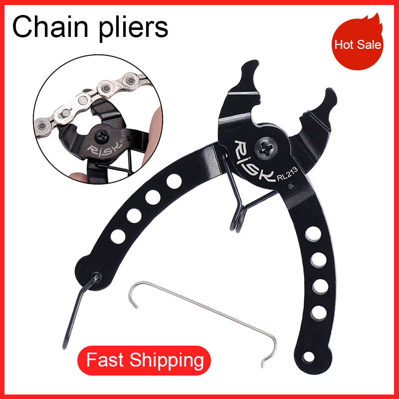 Bike Bicycle Link Plier Chain Buckle Plier Missing Link Remover Tool All Chains.