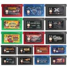 32 비트 비디오 게임 카트리지 콘솔 카드 Rayman Series EU 버전 For Nintendo GBA