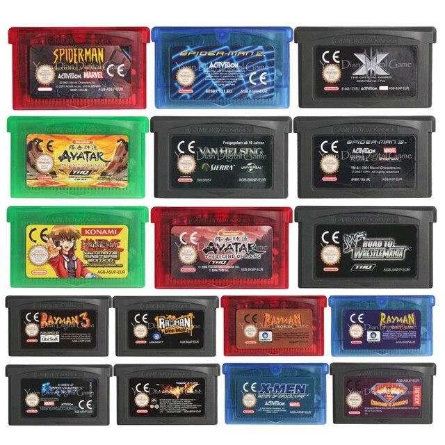 32ビットビデオゲーム任天堂gbaカートリッジコンソールカードraymanシリーズeuバージョン