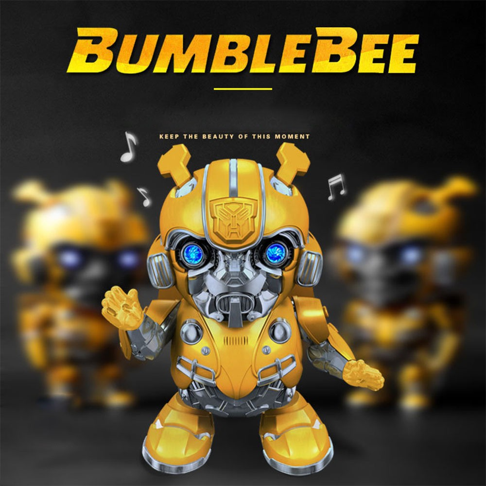 2020 NEW Transformers Robots Bumblebee Lighting Music Dancing Electronic Toys Kids Children Boys Educational Toy Action Figure