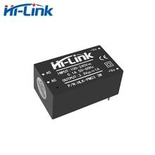 משלוח חינם 10 יח\חבילה AC DC 220V כדי 3.3V 3W שלב למטה באק אספקת חשמל מודול מיני גודל HLK PM03 CE RoHs