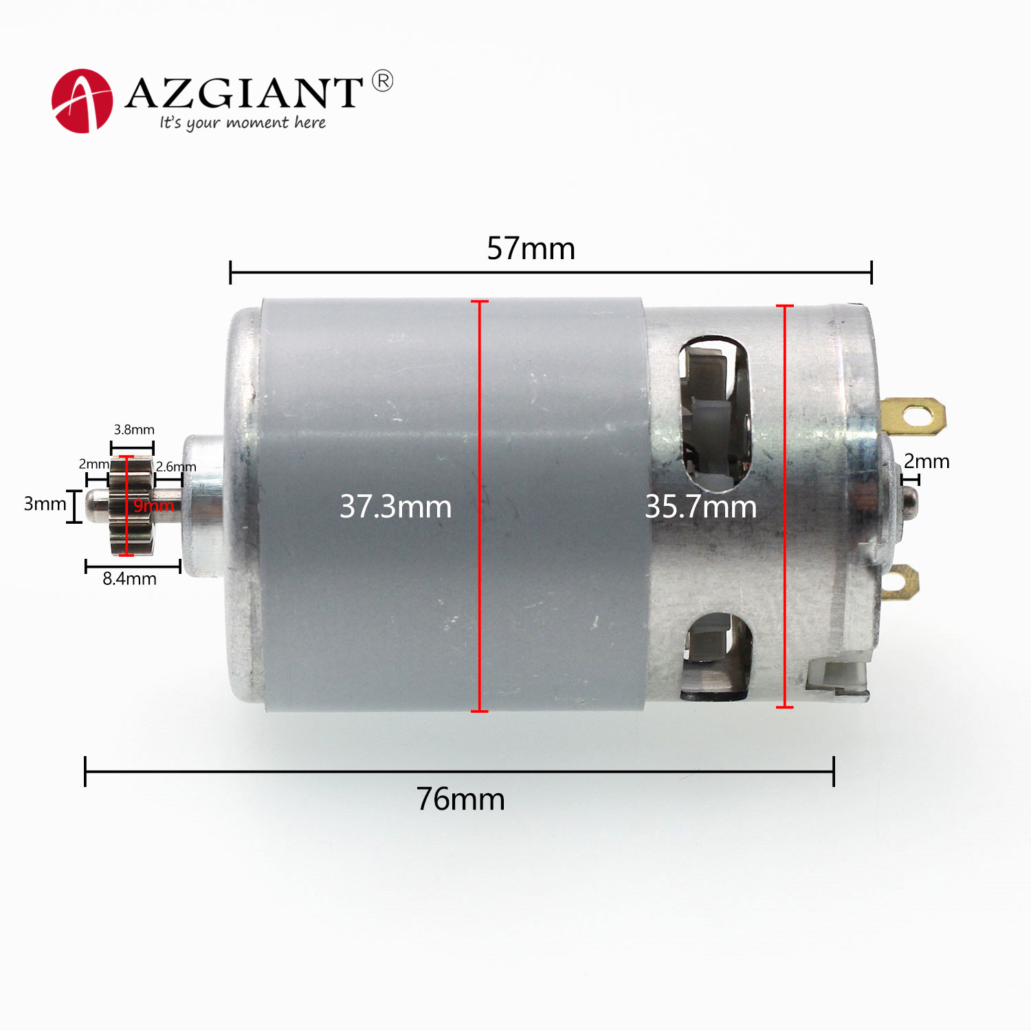 RS550 15T 10.8V Motor Replace for BOSCH GSR10.8-2LI RS 550-8518 Electric Drill