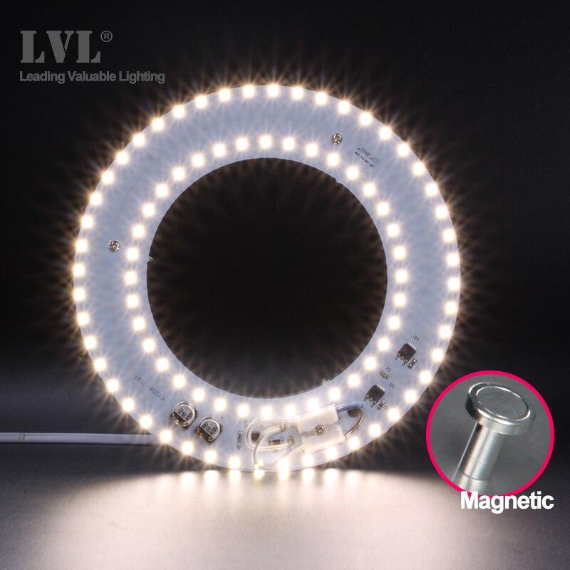 HA CONDOTTO LA Luce del Modulo 220V 230V 240V 6W 10W 18W 25W 40W Magnetica sostituire il Modulo Della Lampada Fonte di Illuminazione Per Retrofit Lampada Da Soffitto