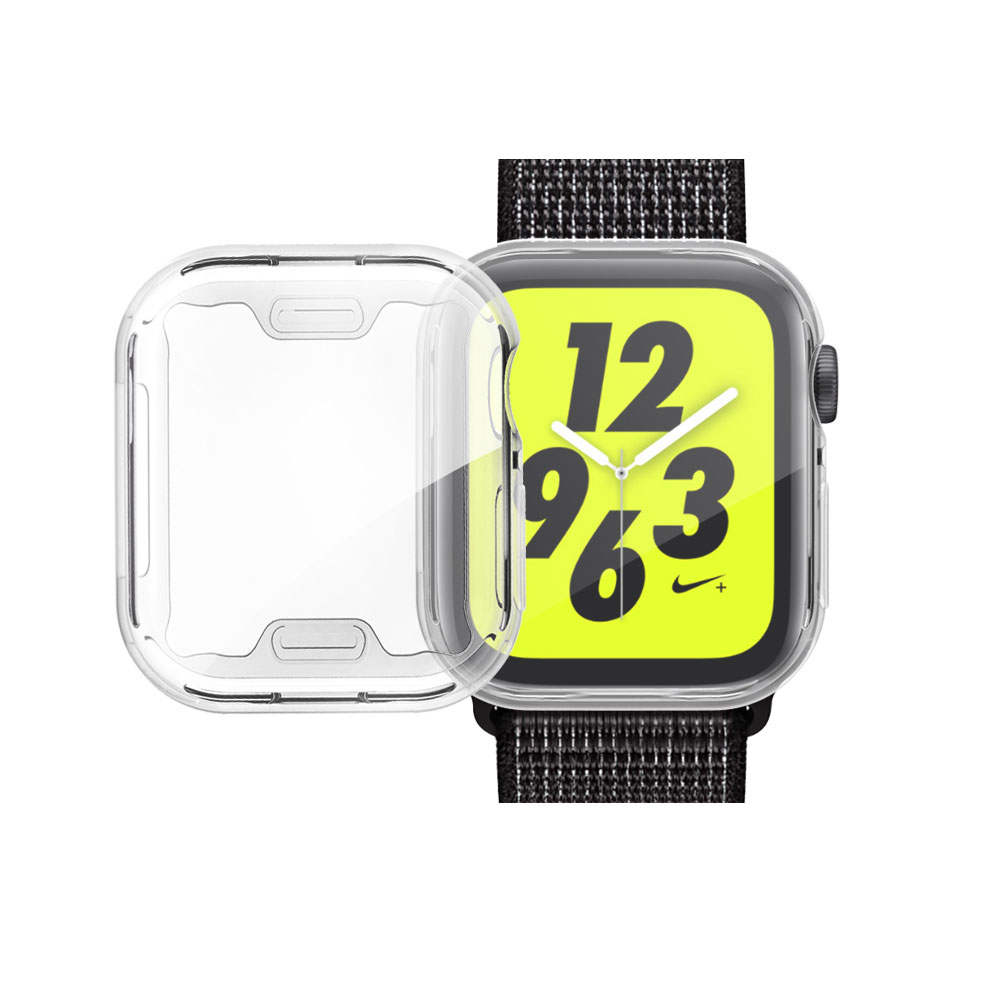 Watch-Cover-Case Screen-Protector Apple Watch 40MM for 5/4 44mm/Soft/360/Slim Clear TPU
