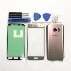 Image 5 - For Samsung Galaxy S7 Edge G935 G935F S7 G930 G930F Front Touch Panel Outer Lens + Rear Battery Door Back Glass Housing Cover