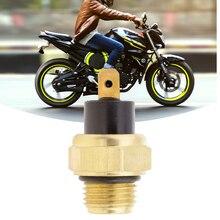 אופנוע רדיאטור מאוורר תרמו מתג Assy טמפרטורת מים חיישן M16 עבור הונדה CB400 CB 1 CBR 400RR NC29 37760 MT2 003 2019