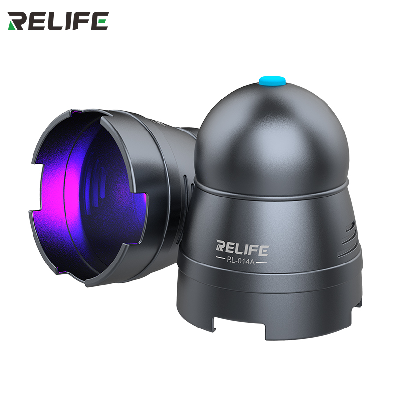 Uv-Curing-Lamp Light-Phone RELIFE Purple High-Power LED USB Green-Oil RL-014A Fast-Adhesive