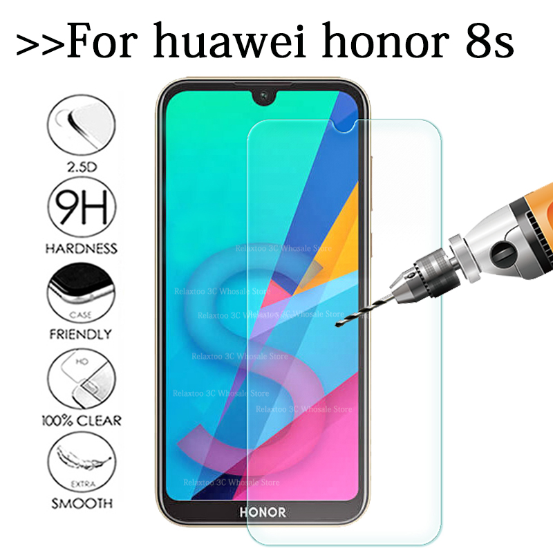 Original Protective Glass On Honor 8s Glass For Huawei Honor 8s 8 S S8 Honor8s KSE-LX9 5.71 Glas Screen Protector Safety Film 9H