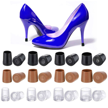 100 Pairs (XS,S,M,L) High Heel Protectors Latin Stiletto Dancing Cover Stoppers Antislip Silicone Heeler Wedding Party