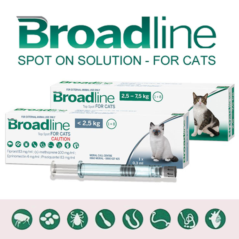 Broadline Spot On Solution For Cats