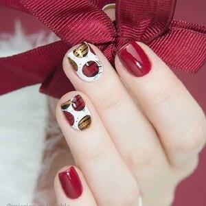 Image 2 - GEBOREN ZIEMLICH Stanzen Platten Neue Jahr Feier Weihnachten Thema Edelstahl Rechteck Nail art Bild Stempel Vorlage BPX L013