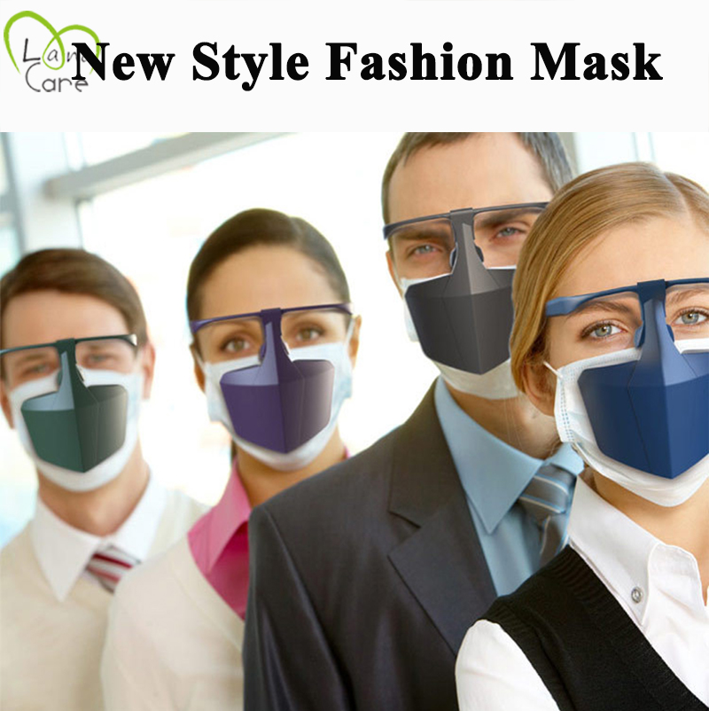 Fashion Mask Face Sealed Proof-Spittle Half Face Mask Outdoor Comfdortable Mask Relax Ear Don't Effect Wear Glass
