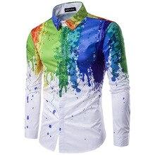 A long-sleeved lapel shirt for a man. cool shirt. men dress shirts long sleeve