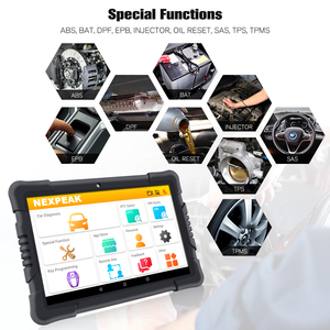 Image 4 - NEXPEAK K1 PRO OBD2 strumento diagnostico per auto Scanner ABS SRS TPMS DPF IMMO chiave EPB ripristino olio OBD2 Scanner automobilistico professionale