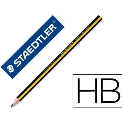 Staedtler 12 unidades Lapices de grafito noris n.2 hb unidad