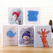 Álbum de fotos de desenhos animados, armazenamento de fotos com Polegada folhas, tipo folha, livro de memória infantil, faça você mesmo, 1 peça presentes