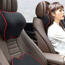 Almohada de descanso del cuello para asiento de coche, reposacabezas con memoria para Peugeot 307, 308, 3008, 2008, 407, 508, Forte Sportage R SORENTO, Mohave OPTIMA