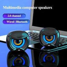 Wired Speakers Bluetooth SOAIY Surround-Soundbox Mini USB No for PC Laptop Notebook 4D
