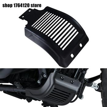 Black Motorcycle Chassis Skid Plate Engine Chassis Protective Cover Guard For Harley Sportster 883 Custom XL883C 2004-2018