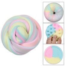 Slime toys Clay Mixing Cloud Slime DIY Soft Cotton Slime Ball Clay Slime Scented Stress Relief Toy Kids Sludge Y913(China)