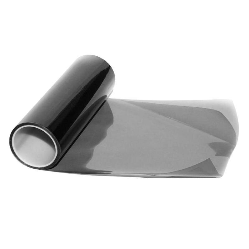 30x150cm 투명 라이트 블랙 카멜레온 자동차 색조 등대 테일 라이트 헤드 라이트 안개 비닐 연기 필름 호일 스티커 커버