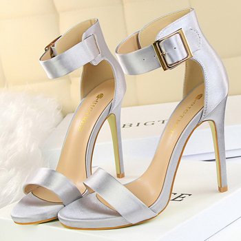 Summer Concise  11.5cm Sandals High Heels   4