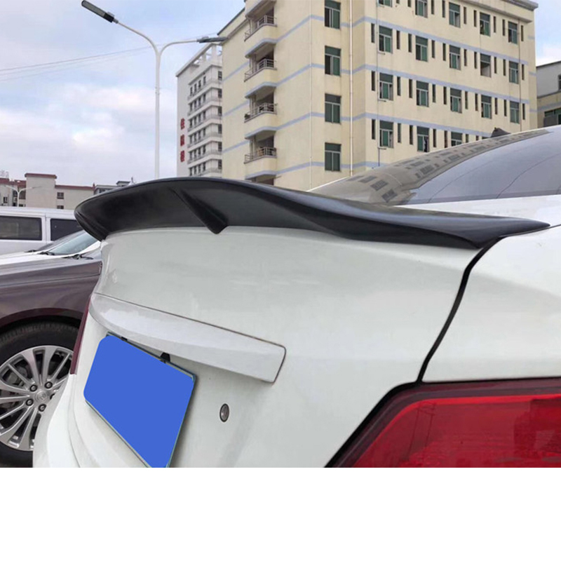 FOR Hyundai Verna Spoiler 11 12 13 14 15 Carbon Fiber/FRP Rear Tail Wing Spoiler FOR Hyundai Accent High Quality Trunk Tail Fin
