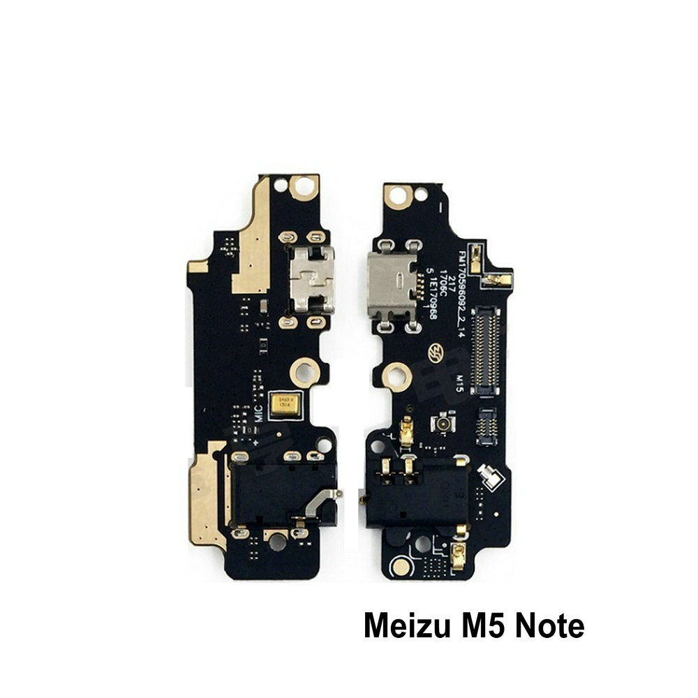 New Microphone Module+USB Charging Port Board Flex Cable Connector Parts For Meizu M5 Note M5Note Replacement