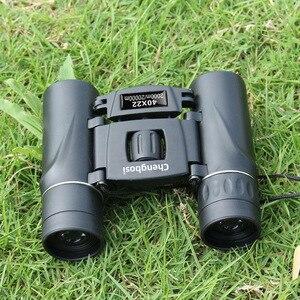 Image 2 - 40x22 Compact Zoom Binoculars Long Range 2000m Folding HD Powerful Mini Telescope BAK4 FMC Optics Hunting Sports Camping Trave