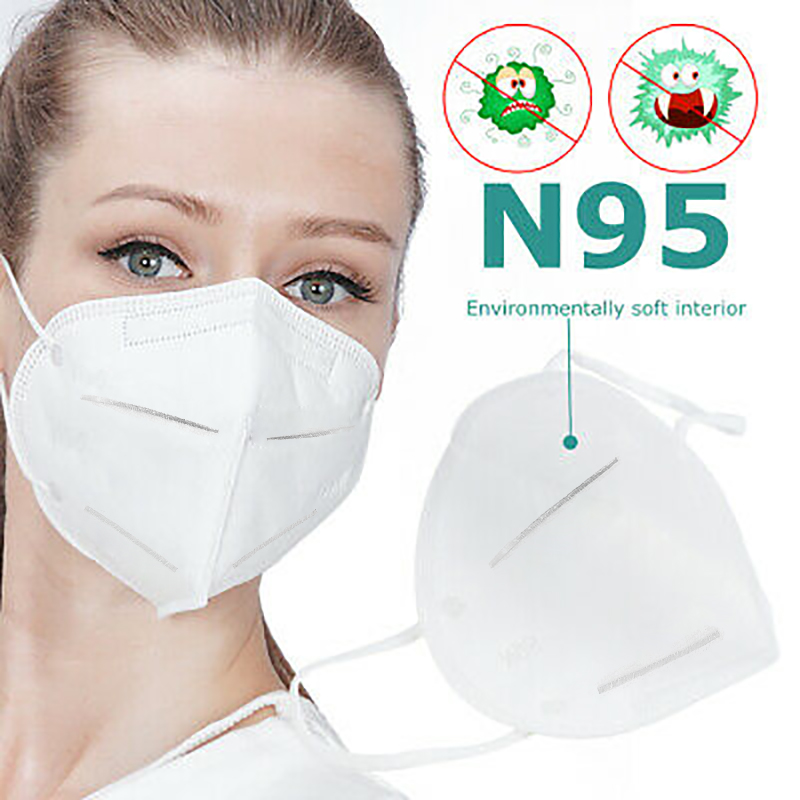 In Stock Original KN95 Mask Dust Same Grade N95 FFP2 Mask Respirator Anti-fog Health Mask Outdoor Dust Pollution Pollen,PM2.5