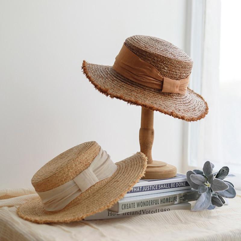Straw raffia handmade beach visor Raffia summer hats Raffia visor Visor UV Protection Hat Cap