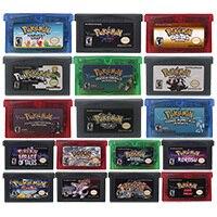 32 Bit gra wideo wkład karta konsoli Poke serii mój tyłek język angielski US wersja dla konsoli Nintendo GBA