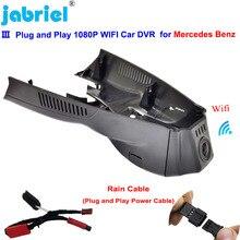 Plug and play wifi carro dvr traço cam para mercedes benz cla w117 para mercedes benz gla x156 para mercedes benz uma classe w176 w177