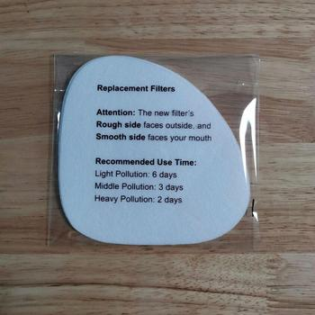 100pcs (10pcs/Bag) of Replacement Filters for Reusable N95 Face Masks, Free Shipping by DHL