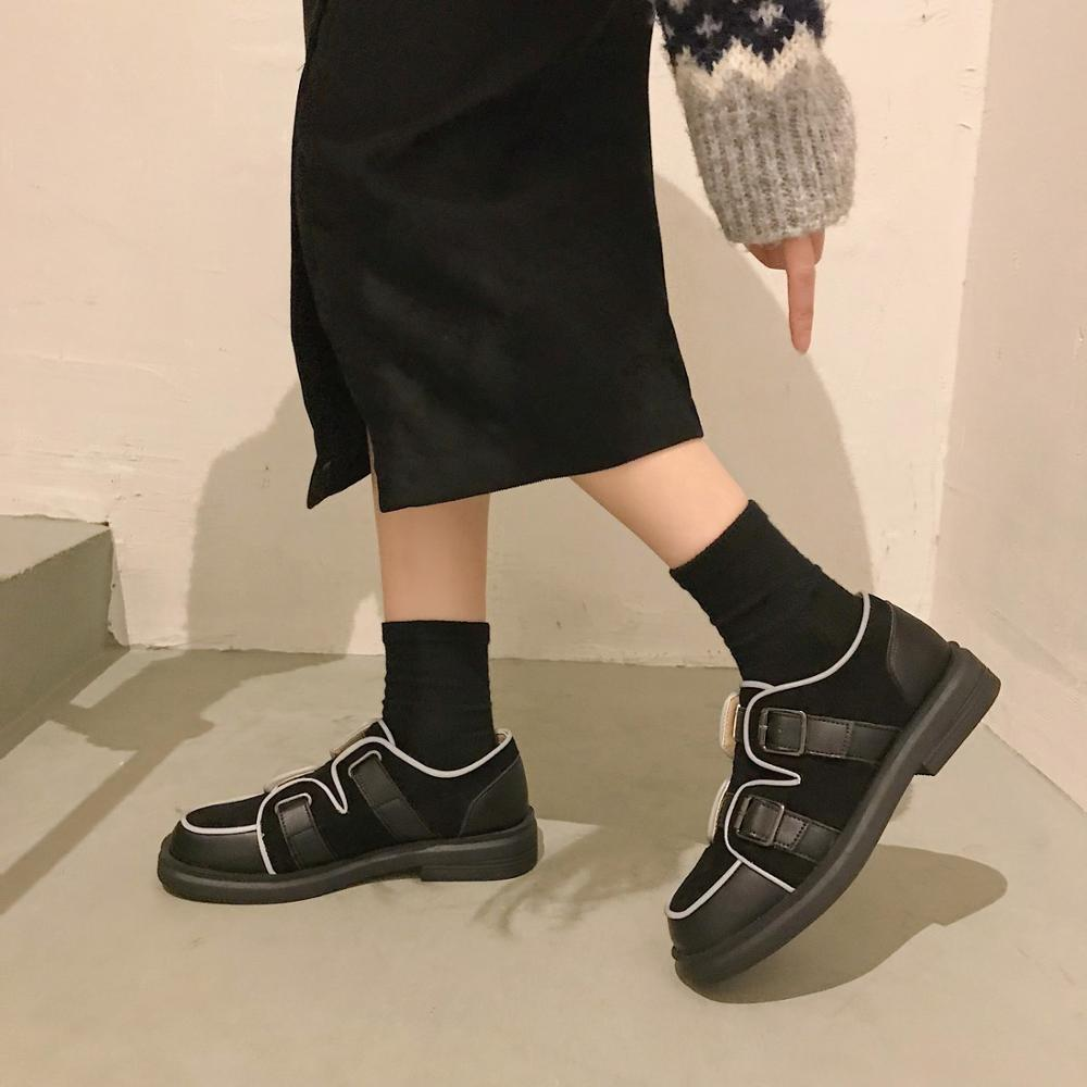Spring and autumn 2020 new comfortable low-top wear-resistant casual shoes lazy shoes fashion wild peas shoes female X102
