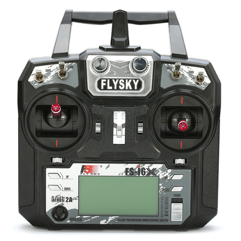 FLYSKY FS-i6X FS i6X 10CH 2.4GHz AFHDS 2A émetteur RC avec récepteur X6B iA6B A8S iA10B iA6 pour Drone de course RC FPV - 2