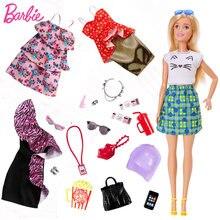 Оригинальные куклы Барби одежда платье сумка туфли на высоком