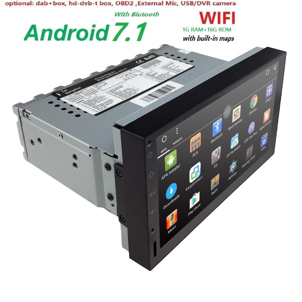 Universal Car Multimedia Player Autoradio 2din Android Stereo 7