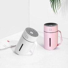 Креативный увлажнитель воздуха домашний мини Ночной светильник USB ручной увлажнитель Ночной светильник прикроватная декоративная портативная атмосферная лампа