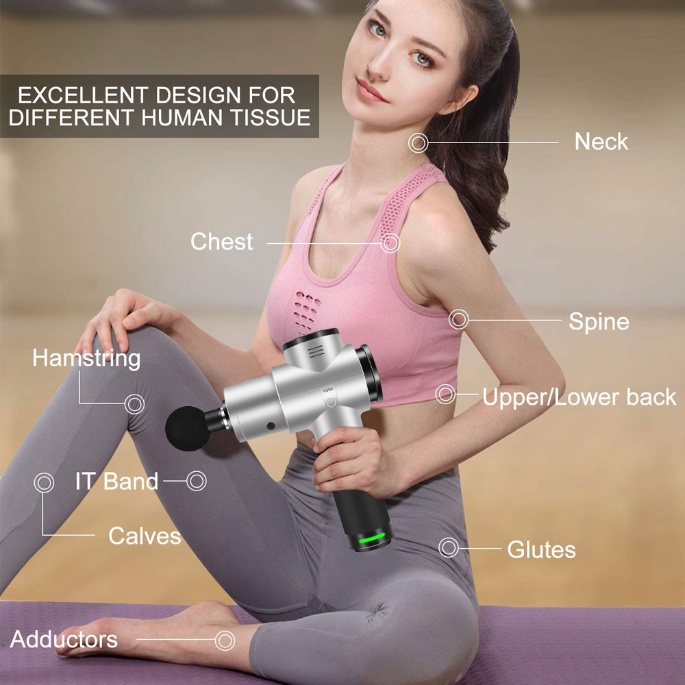 Image 5 - Muscle Massage Gun, Handheld  Massager for Pain Relief, Percussion Massage with 30 Adjustable Speed VibratorRelaxation Treatments   -